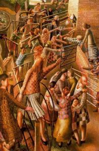 resurrection at Cookham-Stanley Spencer