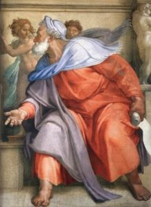 Ezekiel-Michelangelo