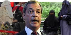 Nigel Farage: a blethering racist