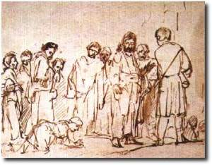 Rembrandt: Canaanite woman