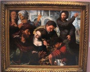 Jan Van Hemessen: Calling of Matthew