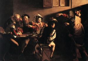 Caravaggio: The Calling of Matthew