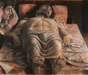 Mantegna: the dead Christ