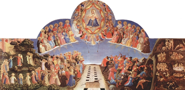 "Fra Angelico, ""Judgement"""