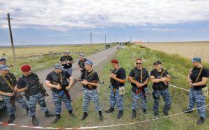Prorussian troops