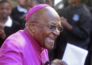 "Tutu: ""my humanity is bound up in yours for we can only be human together"""