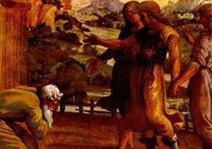 Rafael: Abraham and 3 Angels