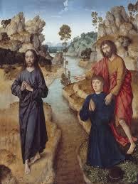 John's testimony to Jesus