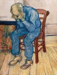 Van Gogh: OLd man in sorrow