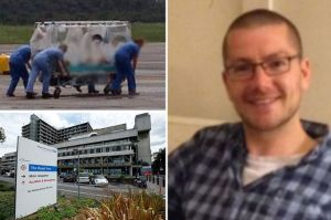 William Pooley, being treated for Ebola
