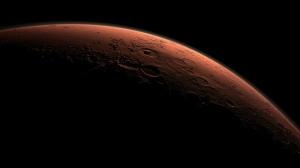 Daybreak on Mars