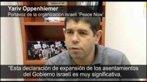 Peace party denounces further settlements