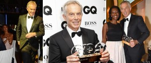 GQ magazine thinks Tony Blair deserves an award for love of humanity