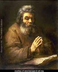 old man pray