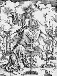 Durer: Christ amid the lampstands