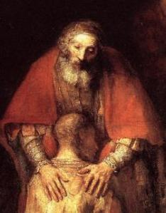forgiveness the only way (Rembrandt)
