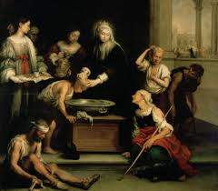 St. Elizabeth tending the sick