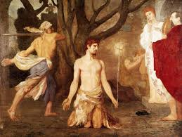 beheading of John the Baptist by Puvis de Chavannes