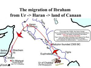 map-of-abrahams-journey
