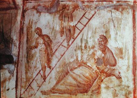 Catacomb painting 4th cent.