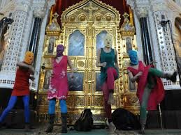 Pussy Riot in the temple