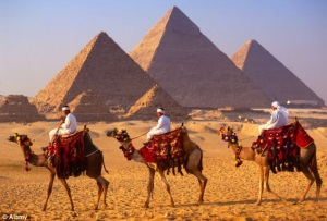 Arriving in Egypt