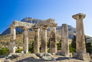 Temple of Aphrodite in Corinth