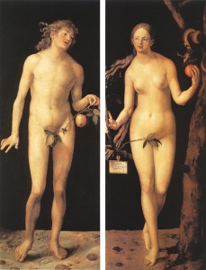 Durer: Adam and Eve