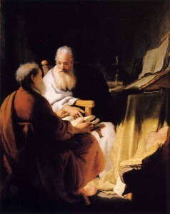 St Paul in argument