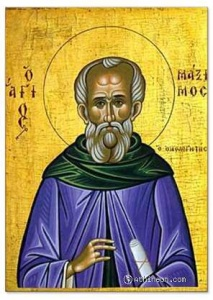 St. Maximum, theologian of life shared with God