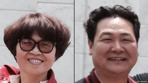 Pastor Bao Guohua and his wife Xing Wenxiang and five others in jail