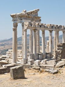 Temple of Trajan at Pergamum