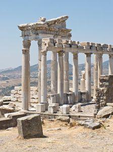 Temple of Trajan at Pergamum