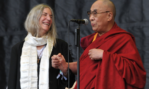 Patti Smith and Dalai Lama