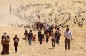 Yazidis persecuted by Isil
