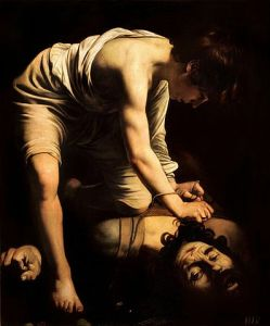 David and Goliath- Caravaggio