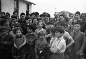Many children were in the camp, Spanish refugees and Jews