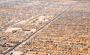 Za'atri Refugee camp in Jordan