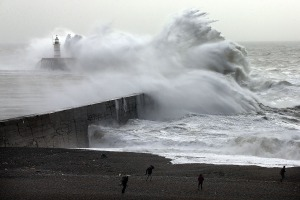 Storm Imogen Sweeps The South Of England