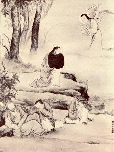 """Luke Ch'en, """"Gethsemane,"""" 1928"""