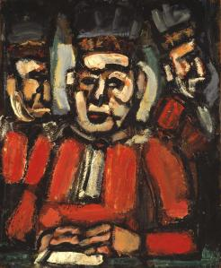 The Three Judges c.1936 by Georges Rouault 1871-1958